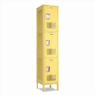 Penco Invincible II Lockers- Triple Tier- 3- Section (Unassembled)