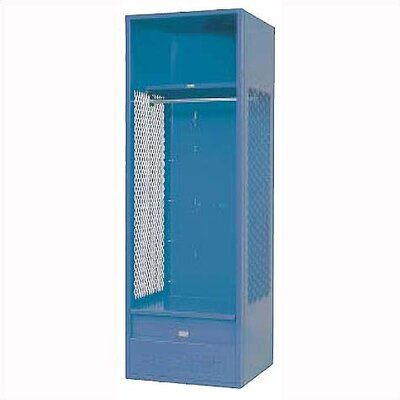 Penco KD Stadium Locker w/ Shell, Shelf & Foot Locker