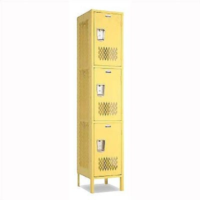 Penco Invincible II Lockers- Triple Tier- 1- Section (Unassembled)
