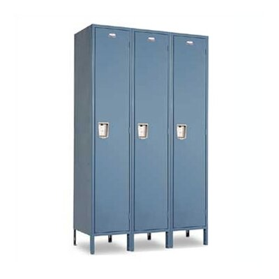 Penco Vanguard Single Tier 3 Wide Locker (Unassembled)