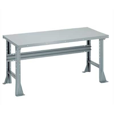 Penco Open Work Bench - Tuff Top, Composition Core, Fixed Height