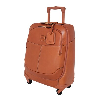 "Bric's Life Pelle 21"" Spinner Carry On"
