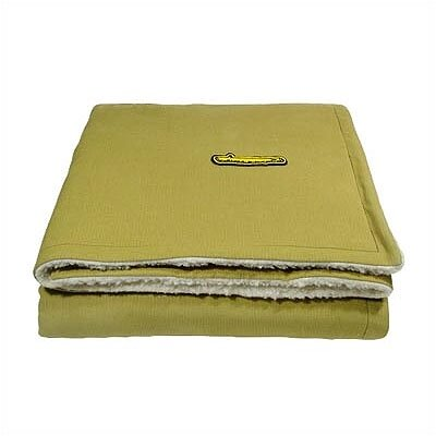 George SF Corduroy Pet Quilt in Lime