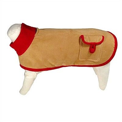 George SF Bambi Ultrasuede Dog Jacket