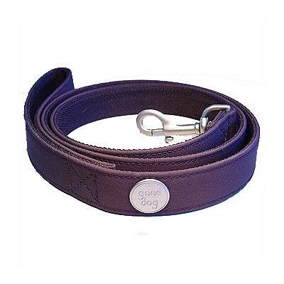 George SF Studded Nylon Microfiber Dog Leash