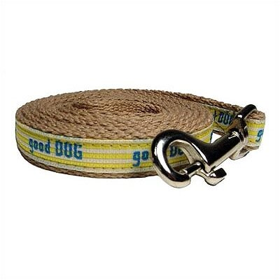 "George SF ""Good Dog"" Cotton Tiny Dog Leash"