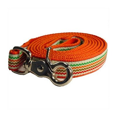 George SF Rick-Rack Cotton Webbing Leash