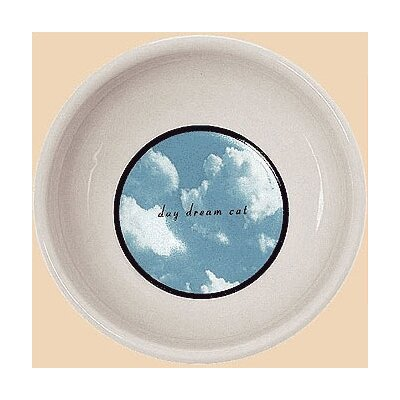 George SF Daydream Porcelain Cat Bowl
