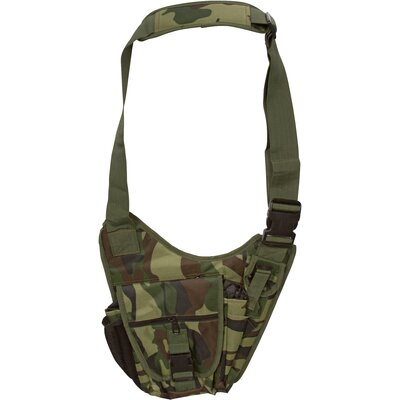 Camouflage Messenger Bag
