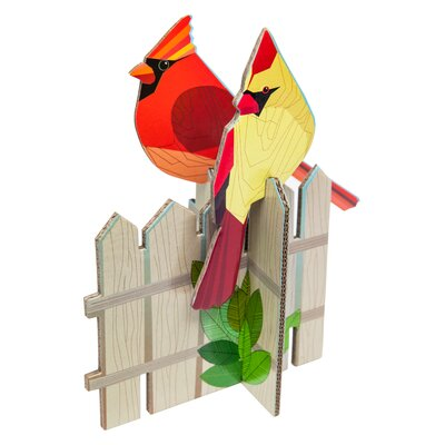 Cardinals Pop Out Card
