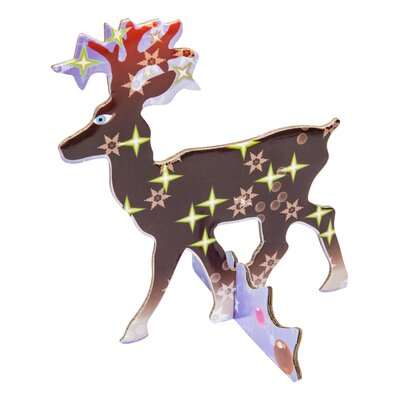 Reindeer Pop Out Card