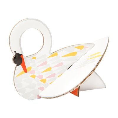 Swan Pop Out Card