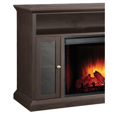 pleasant hearth riley media cabinet and 23 electric