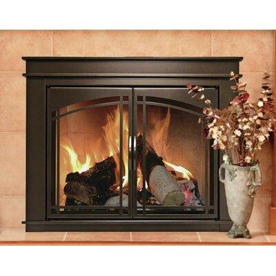 Pleasant Hearth Fenwick Cabinet Style Fireplace Screen