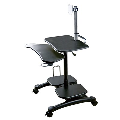 Heavy Duty Mobile LCD/LED Workstation