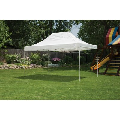 10' x 15' Straight Leg Popup Canopy with Wheel Bag