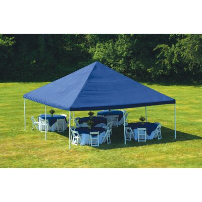 "ShelterLogic 20' x 20' Decorative Canopy w/ 8 Leg 2"" Frame"