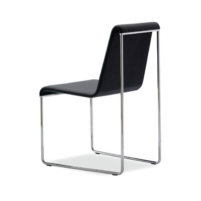 Slender Wool Side Chair