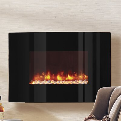Dynasty LED Wall Mount Electric Fireplace