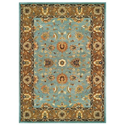 Magellan Light Blue / Brown Rug