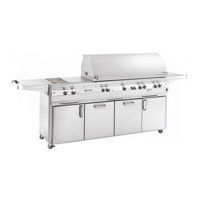 Fire Magic Echelon E1060s Cabinet Gas Grill with Double Side Burner