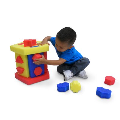 Kid's Adventure Educational Shape Sorter and Chair
