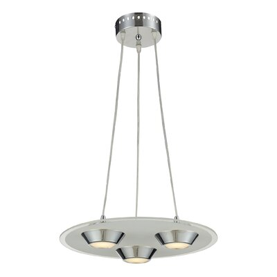 Nulco Lighting Brentford 3 Light Pendant