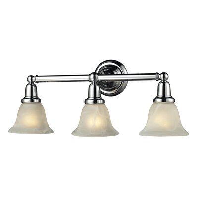 Nulco Lighting Vintage Bath 3 Light Bath Vanity Light