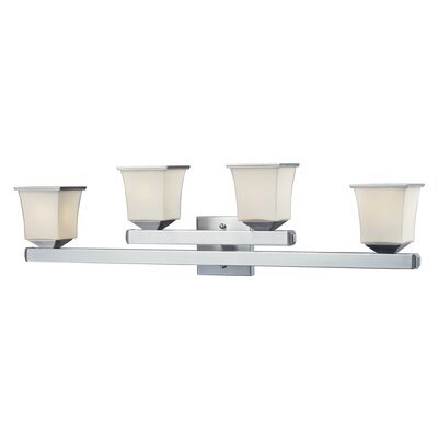 Nulco Lighting Ziggusat 4 Light Bath Vanity Light