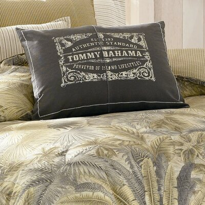 Bahamian Breeze Logo Print Decorative Pillow