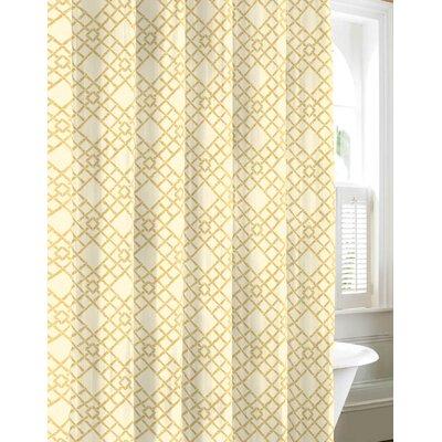 Bamboo Trellis Cotton Shower Curtain Wayfair