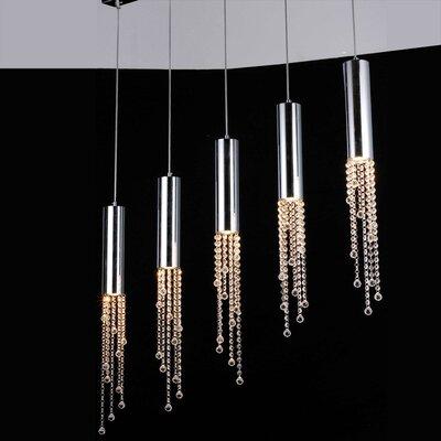 Bromi Design Jael 5 Light Pendant