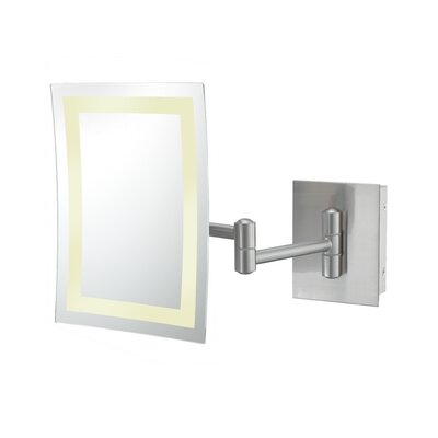 Kimball & Young Single Sided LED Hardwire Rectangular Wall Mirror