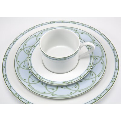 Nikko Ceramics Perennial Green Dinnerware Set
