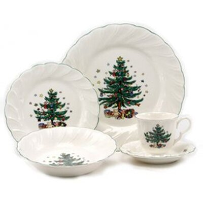 Happy Holidays Dinnerware Set