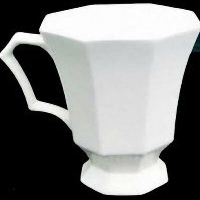 Nikko Ceramics Classic White 12 oz. Coffee Mug