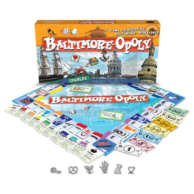 Late for the Sky Baltimore-Opoly Board Game