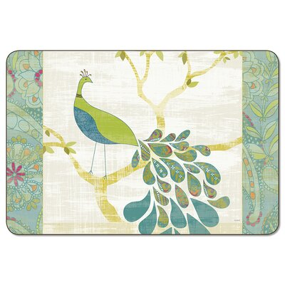 Mod Peacock Placemat (Set of 4)