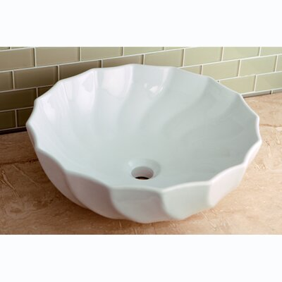 Odyssey China Vessel Bathroom Sink - EV9143
