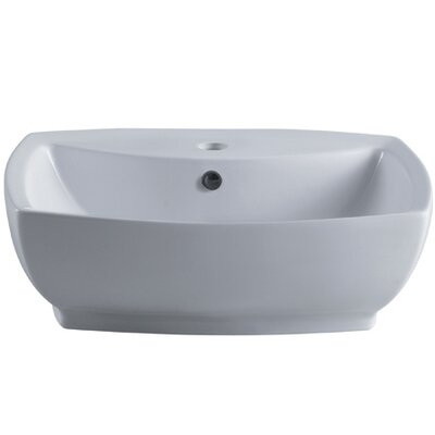 Marquis China Vessel Bathroom Sink - EV8145