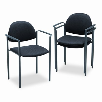 Global Total Office Comet Stacking Guest Arm Chair