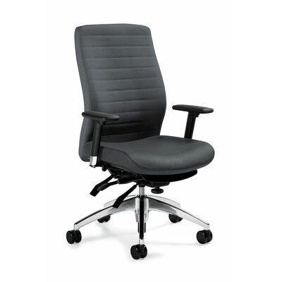 Global Total Office High-Back Multi Office Chair with T-Arms