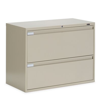 "Global Total Office 9300 Series 36"" W Two-Drawer Lateral File"