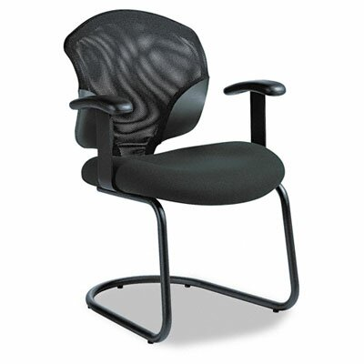 Global Total Office Tye Mesh Management Series Arm Chair with Cantilever Base