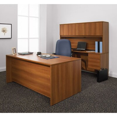 Global Total Office Adaptabilities Double Pedestal Desk