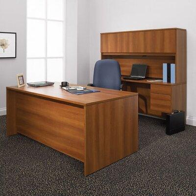 Global Total Office Adaptabilities Single Pedestal Credenza