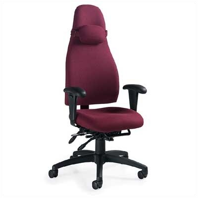 Global Total Office OBUSForme High-Back Pneumatic Office Chair