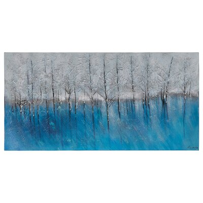 Forest of Blue by Ksenia Sizaya Painting Print on Canvas