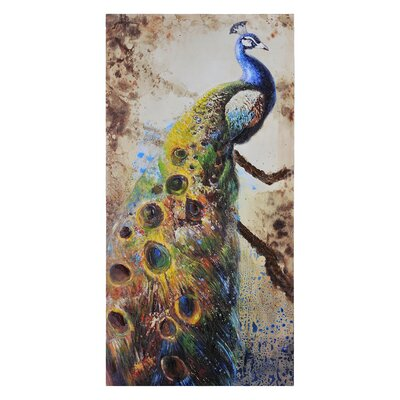 Ren-Wil Peafowl Canvas Wall Art
