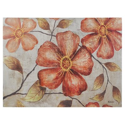 Vintage Florals Canvas Wall Art